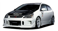 Buddy Club Front Bumper Civic EP3 02-05 3D Si