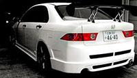Buddy Club Rear Bumper TSX 04-08