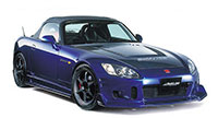 Buddy Club Side Skirts S2000 00-04