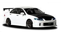 Buddy Club Side Skirts TSX 04-08