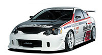 Buddy Club Side Skirts RSX 02-up
