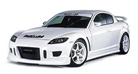 Buddy Club Side Skirts RX8