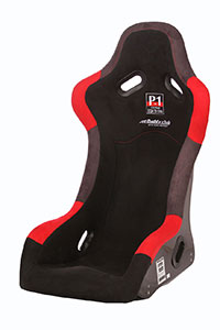 Buddy Club P1 Limited Carbon Bucket Seat (Reg) Black