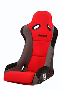 Buddy Club Racing Spec Bucket Seat (Regular) Red