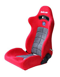 Buddy Club Racing Spec Sport Reclinable Seat Red