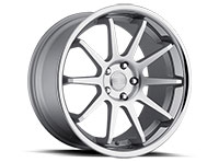 Concept One CS10 Wheel Rim 20x10.5 5x114.3 ET27 73.1 Silver Machined