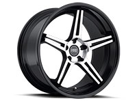 Concept One CS5.0 Wheel Rim 20x10.5 5x114.3 ET27 73.1 Matte Black/Machined
