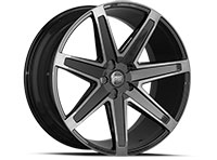 Concept One CSM03 Wheel Rim 22x10.5 5x108-120 ET20-30 66.56 Double Dark Tint Black