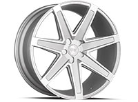 Concept One CSM03 Wheel Rim 22x10.5 5x108-120 ET20-30 66.56 Silver Machined