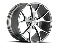 Concept One CSM5 Wheel Rim 20x10 5x112-114.3 ET15-40 73.1 Matte Gunmetal Machined