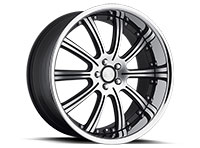 Concept One RS-10 Wheel Rim 20x10 5x112 ET20 66.6 Matte Black/Machined