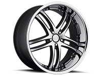 Concept One RS-55 Wheel Rim 20x10 5x112 ET35 66.6 Matte Black/Machined