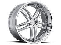 Concept One RS-55 Wheel Rim 20x10 5x112 ET20 66.6 Silver Machined