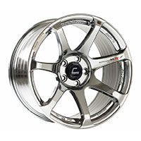 Cosmis Racing MR7 Wheel Rim 18x10 5x114.3 ET25 Black Chrome