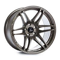 Cosmis Racing MRII Wheel Rim 17x9 5x114.3 ET10 Bronze