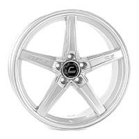 Cosmis Racing R5 Wheel Rim 18x8.5 5x108 ET40 Silver