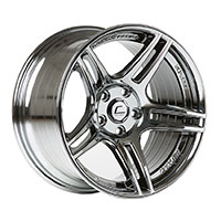 Cosmis Racing S5R Wheel Rim 17x10 5x114.3 ET22 Black Chrome