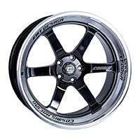 Cosmis Racing XT006R Wheel Rim 18x11 5x114.3 ET8 Black w/ Machined Lip