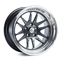 Cosmis Racing XT206R Wheel Rim 15x8 4x100 ET30 Gun Metal w/ Polished Lip