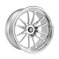 Cosmis Racing XT206R Wheel Rim 22x10 6X139.7 ET0 Silver w/ Machined Face + Lip