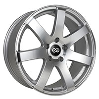 Enkei BR7 Wheel Rim 16x7.5 5x100  ET38 72.6 Silver Machined
