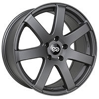 Enkei BR7 Wheel Rim 16x7.5 5x100  ET38 72.6 Matte Gray