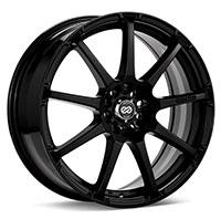 Enkei EDR9 Wheel Rim 15x6.5 4x100 4x114.3 ET38  Matte Black