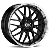 Enkei LUSSO Wheel Rim 18x7.5 5x100  ET42 72.6 Black Machined