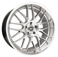 Enkei LUSSO Wheel Rim 18x7.5 5x100  ET42 72.6 Hyper Silver