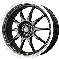 Enkei J10 Wheel Rim 15x6.5 4x100 4x108 ET38  Matte Black