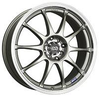 Enkei J10 Wheel Rim 15x6.5 4x100 4x108 ET38  Silver
