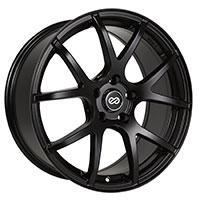 Enkei M52 Wheel Rim 15x6.5 4x100  ET38 72.6 Matte Black