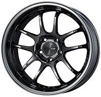 Enkei PF01 EVO Wheel Rim 17x9 5x114.3  ET0 75 SBK