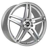 Enkei RSF5 Wheel Rim 15x6.5 4x100  ET38 72.6 Silver Machined
