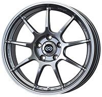 Enkei RSM9 Wheel Rim 17x7 4x100  ET38 75 Silver