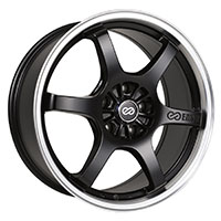 Enkei SR6 Wheel Rim 17x7.5 5x100  ET40 72.6 Matte Black