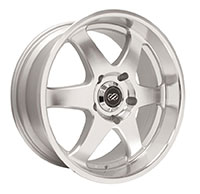 Enkei ST6 Wheel Rim 17x8 5x127  ET10 71.6 Silver Machined
