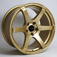 Enkei T6S Wheel Rim 17x8 5x100  ET45 72.6 Gold