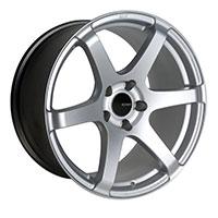 Enkei T6S Wheel Rim 17x8 5x100  ET45 72.6 Silver