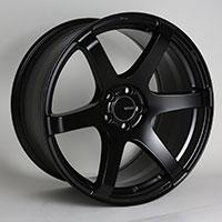 Enkei T6S Wheel Rim 17x8 5x100  ET45 72.6 Matte Black