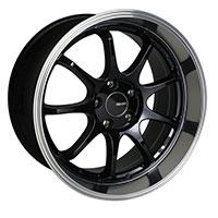 Enkei TENJIN Wheel Rim 17x8 5x100  ET35 72.6 Black