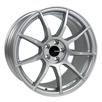 Enkei TS9 Wheel Rim 17x8 5x100  ET45 72.6 Silver