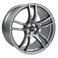 Enkei TX5 Wheel Rim 17x8 5x100  ET45 72.6 Platinum Gray