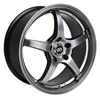 Enkei VR5 Wheel Rim 15x6.5 4x100  ET38 72.6 Hyper Black