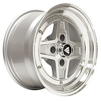 Enkei APACHE II Wheel Rim 15x7 4x100  ET38  Silver Machined