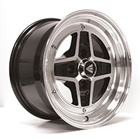 Enkei APACHE II Wheel Rim 15x7 4x100  ET38  Black Machined