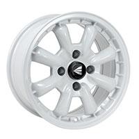 Enkei COMPE Wheel Rim 15x5.5 4x130  ET17 87 White