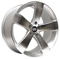 Enkei GP5 Wheel Rim 16x7.5 5x100  ET38 72.6 Silver Machined