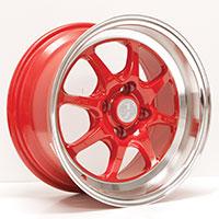 Enkei J-SPEED Wheel Rim 15x7 4x100  ET25 72.6 Red