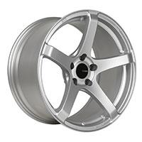 Enkei KOJIN Wheel Rim 17x8 5x100  ET40 72.6 Silver